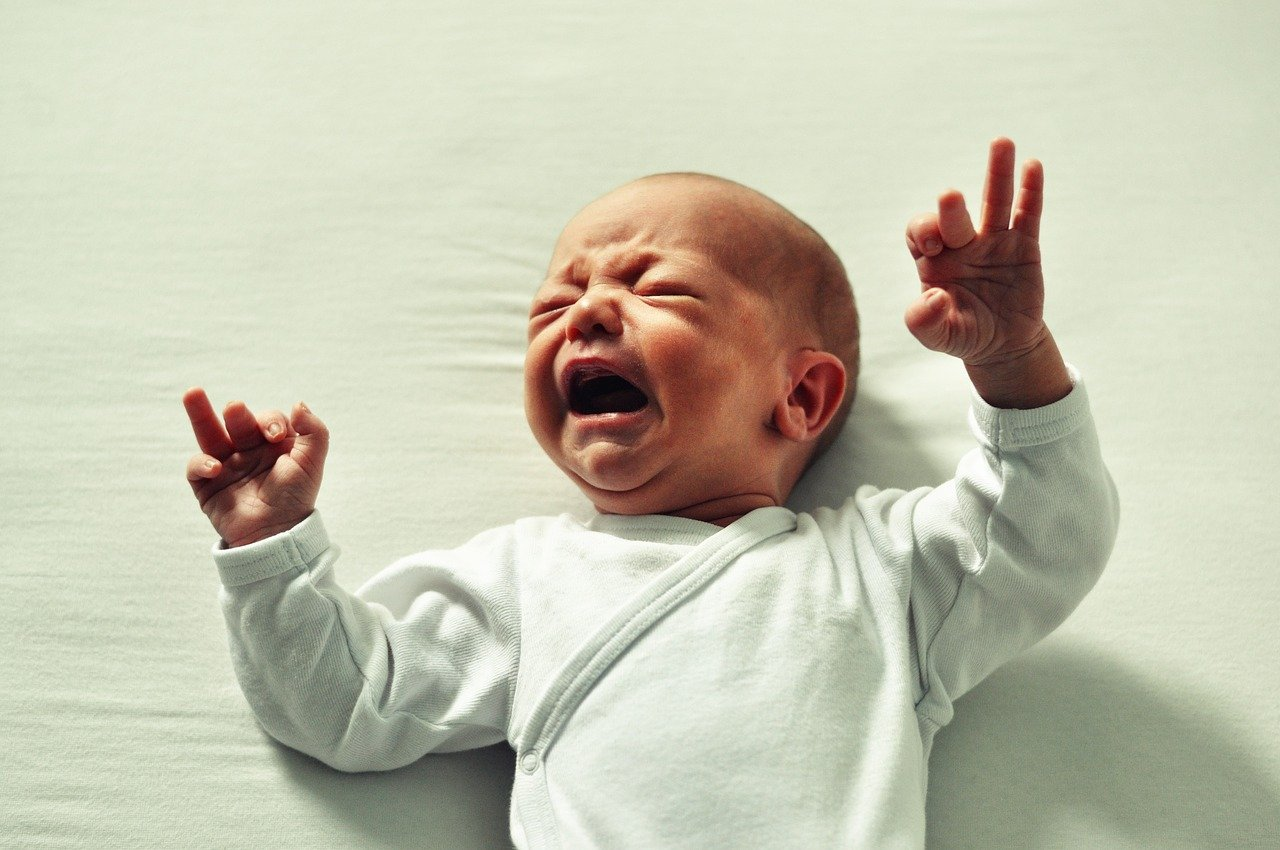 Kolka u niemowlaka – co robić?
