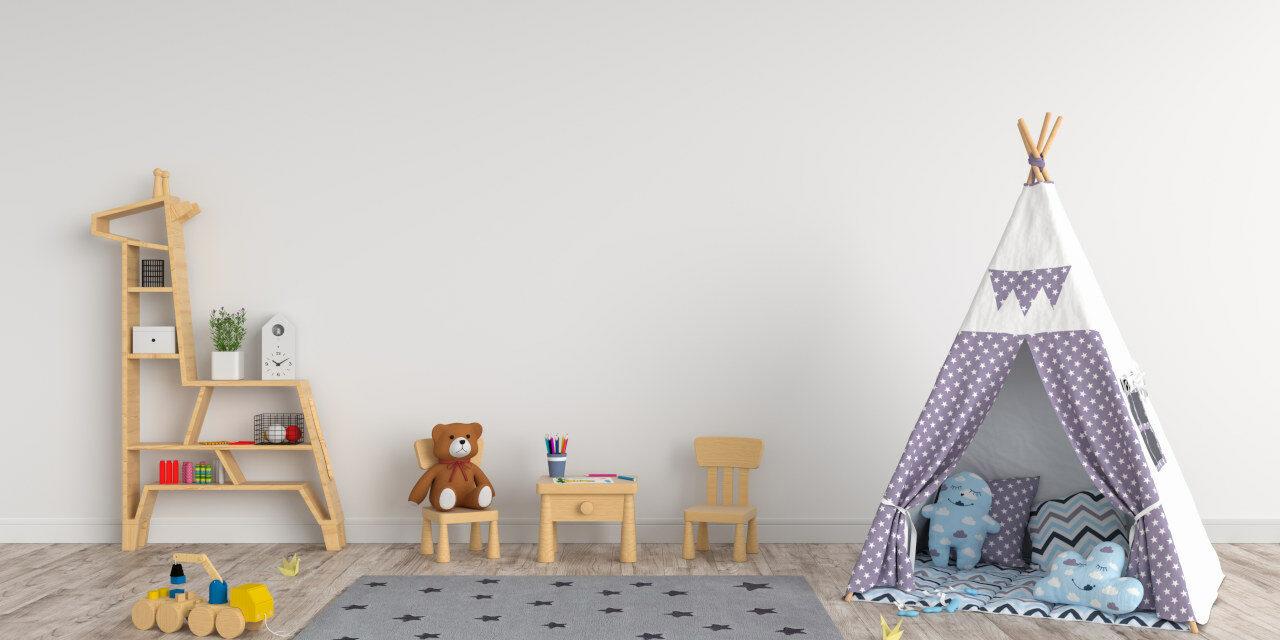 Pokój dla niemowlaka i dziecka do 3 lat – jak wybierać kolory i farby?
