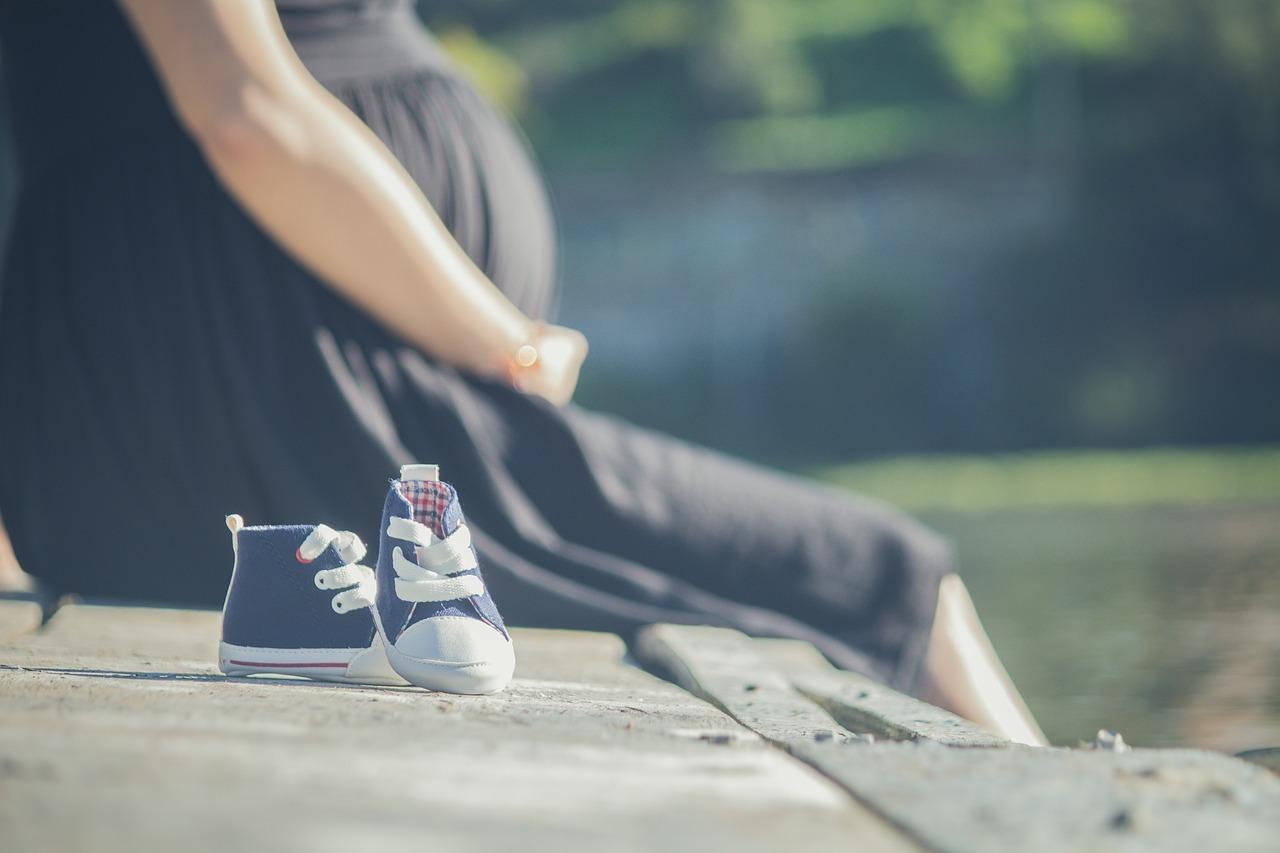 Początek trzeciego trymestru ciąży.